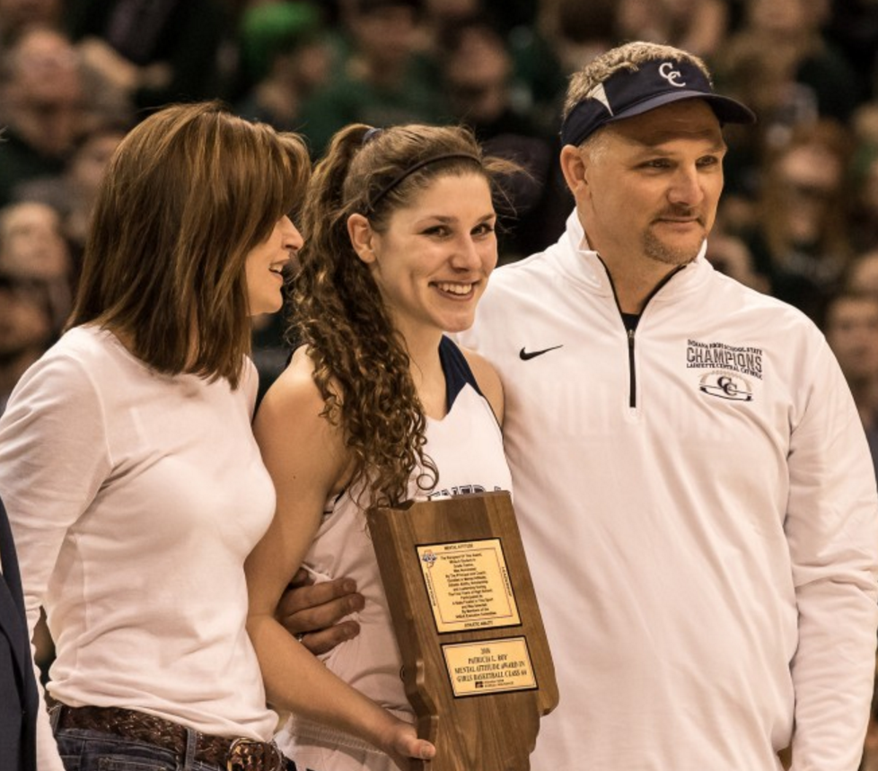 Cameron Onken selected as 2016 IHSAA Class 2A Girls Basketball Mental Attitude Award Winner!